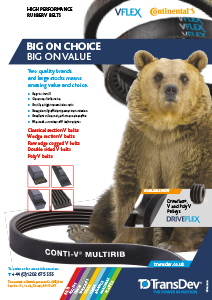 V-Flex V Belts Leaflet