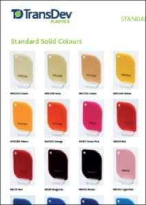 Policril Colour Charts