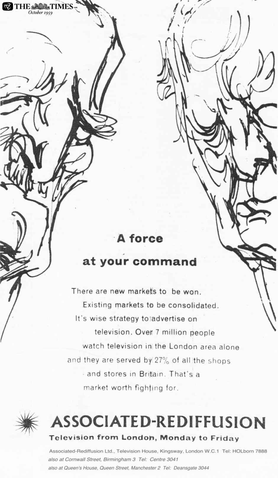 AR a force at your command