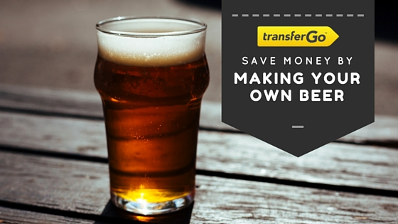 save money by making your own beer