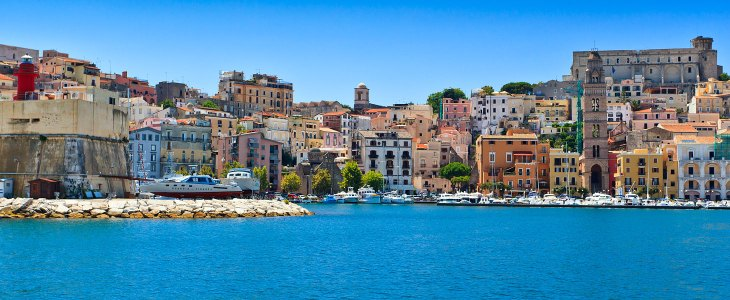 The most beautiful beaches of Lazio (close Rome)