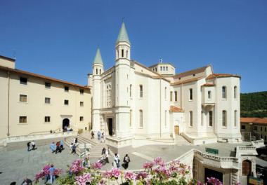 saint rita from cascia sanctuary