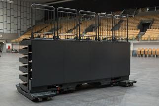 Olympiahalle Innsbruck ÖsterreichELAN TransFlex S mobile Teleskop-Tribünen ELAN Standworks