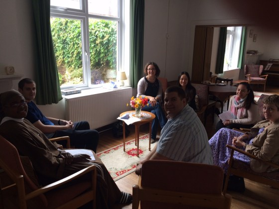 A few of us recently on a retreat at the Poor Clares in Arundel