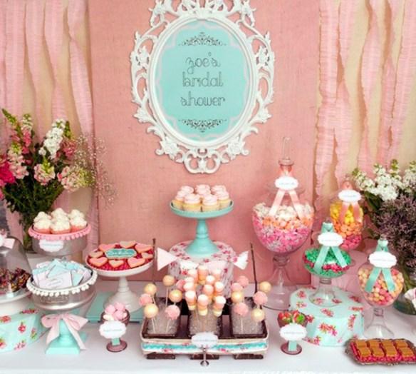 Decoração de mesa para festa