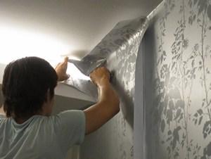 Como Fazer a Decoração com papel de parede