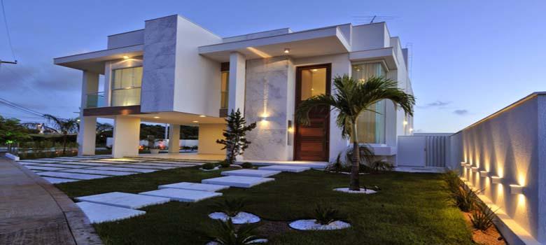 Porque amamos fachadas de casas bonitas e modernas for Materiais para fachadas de casas modernas