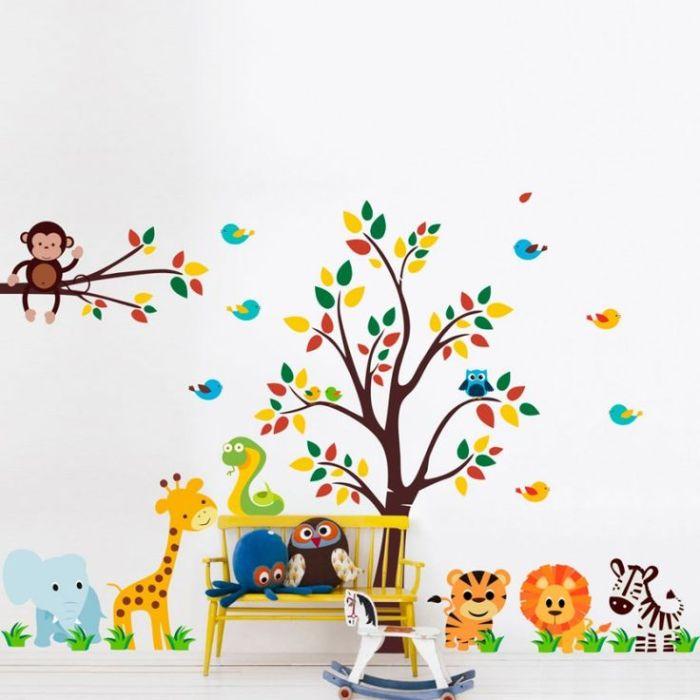 adesivos de parede para quarto de bebê3