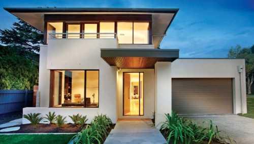 cores de fachadas de casas modernas 3