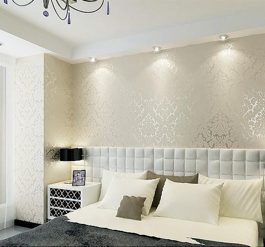 Papel de parede branco dicas incr veis para usar for Patron de papel tapiz para sala comedor