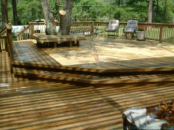 Deck de madeira – Como fazer 9 dicas de decoração como decorar como organizar