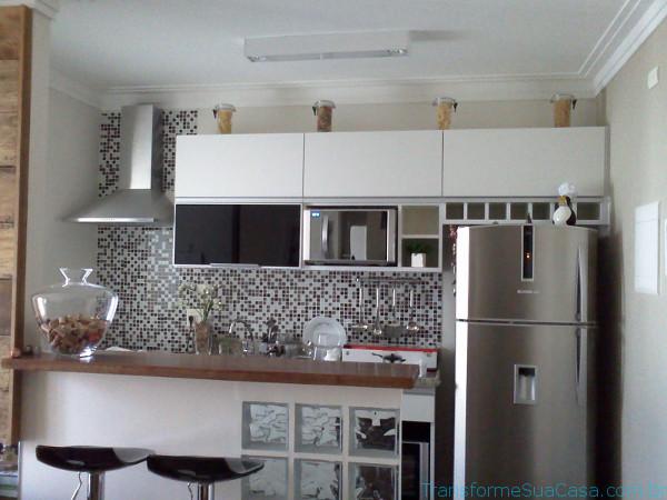 Decoração com pastilhas para cozinha – Como fazer (2) dicas de decoração como decorar como organizar