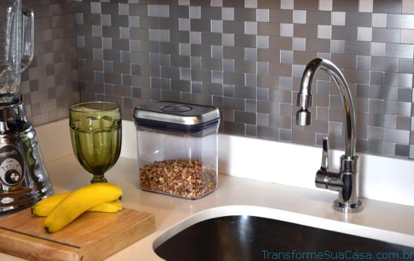 Decoração com pastilhas para cozinha – Como fazer (9) dicas de decoração como decorar como organizar