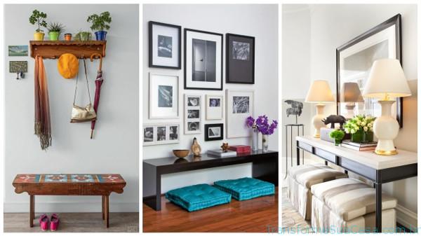 Decoração de hall de entrada – Como fazer 5 dicas de decoração como decorar como organizar