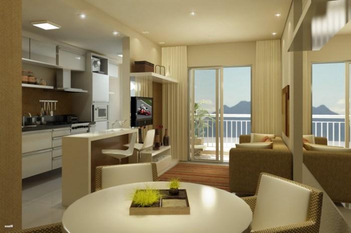 Decoração de sala de apartamento – Como decorar (1) dicas de decoração fotos