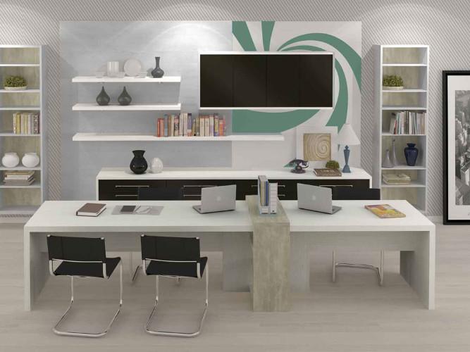 Escritório profissional – Como decorar, dicas, fotos (2) dicas de decoração fotos
