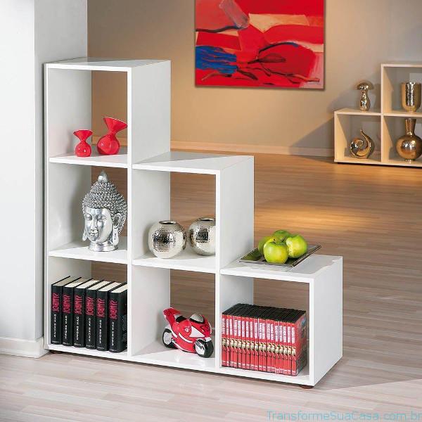 Estante para sala – Como escolher 6 dicas de decoração como decorar como organizar