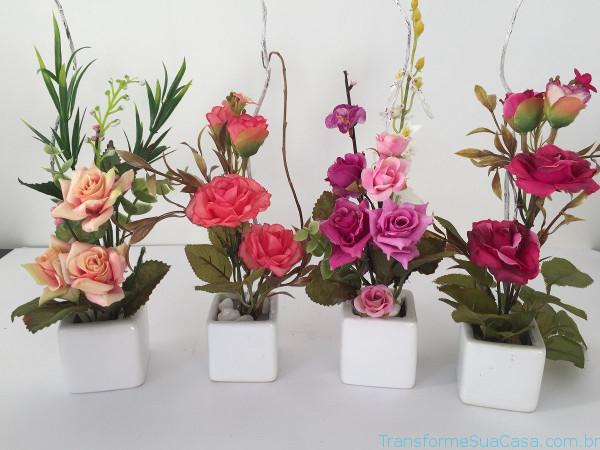 Flores artificiais – Como usar 10 dicas de decoração como decorar como organizar