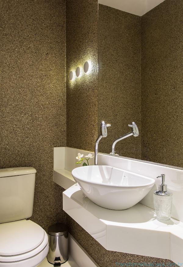 Papel de parede para lavabo como usar - Lavabos de pared ...