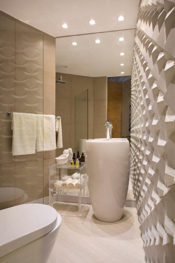 Cores para lavabo dicas fotos parede piso pequeno - Piso pequeno moderno ...