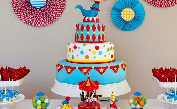 festa aniversario colorido