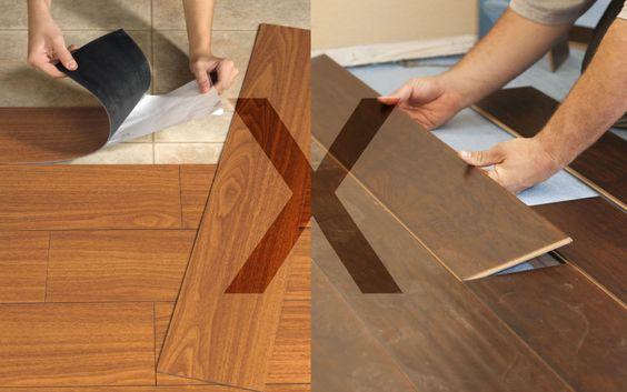 Como instalar e cuidar do piso vinílico na cozinha