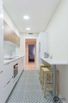 Dicas essenciais para cozinhas corredor bem organizadas