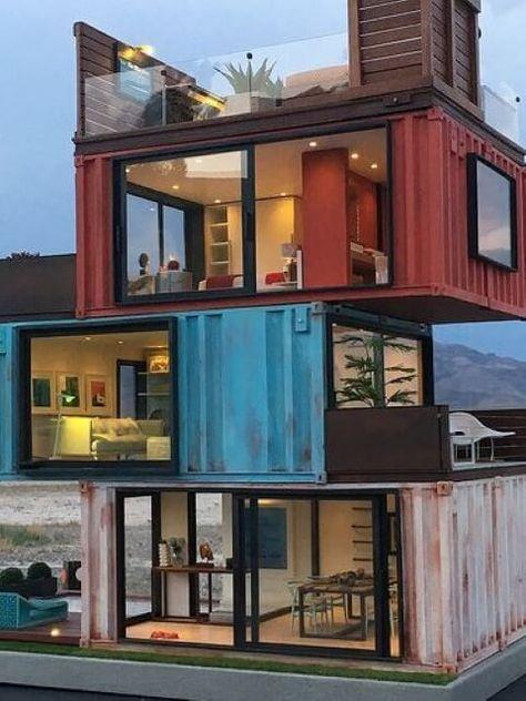 casa container tres andares