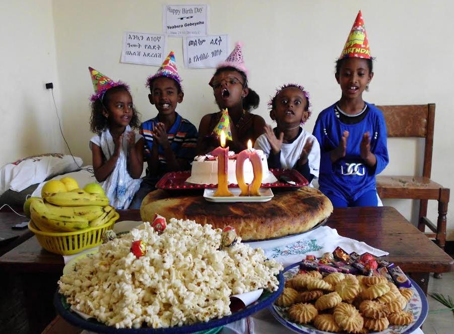 Bilderesultat for ethiopian birthday party