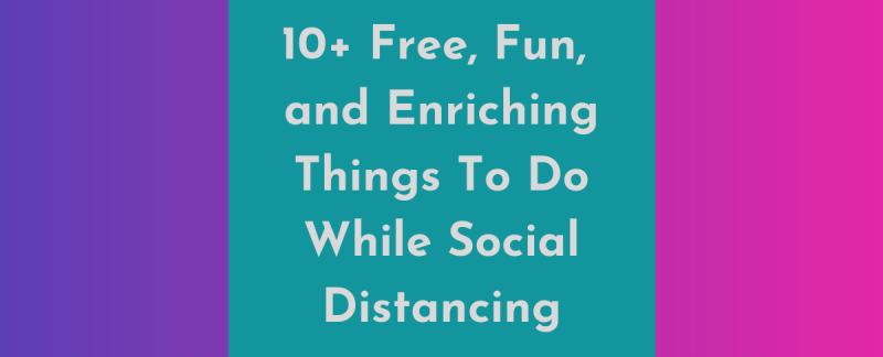 social distancing activities in san diego