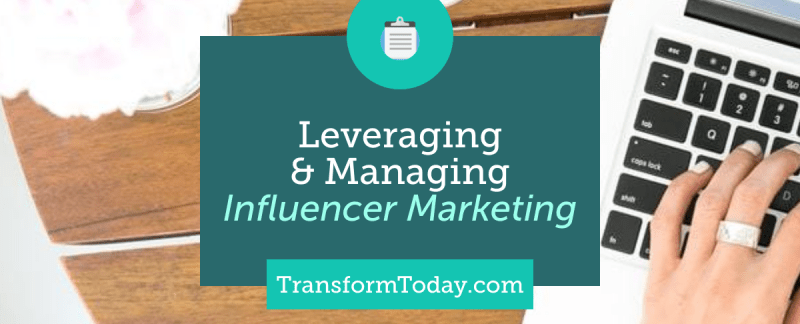 Influencer Marketing Mangement team