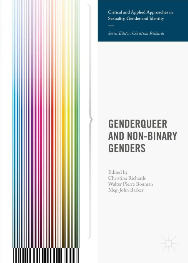 genderqueer and non-binary genders book