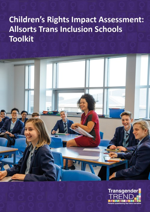 Children's Rights Impact Assessment:  Allsorts Trans Inclusion Schools Toolkit.