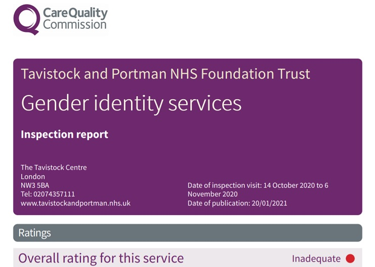Care Quality Commission report