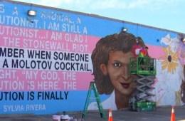 Transgender mural