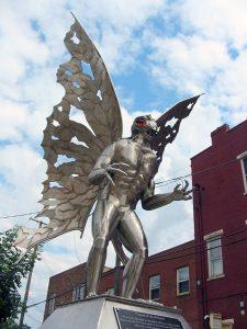 Mothman Statue in West Virginia