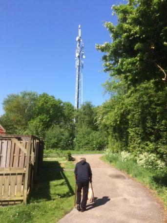 Radio mast Terschelling Midsland