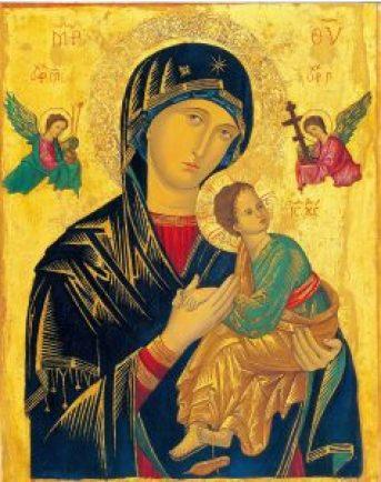 Mother of perpetual help - corona
