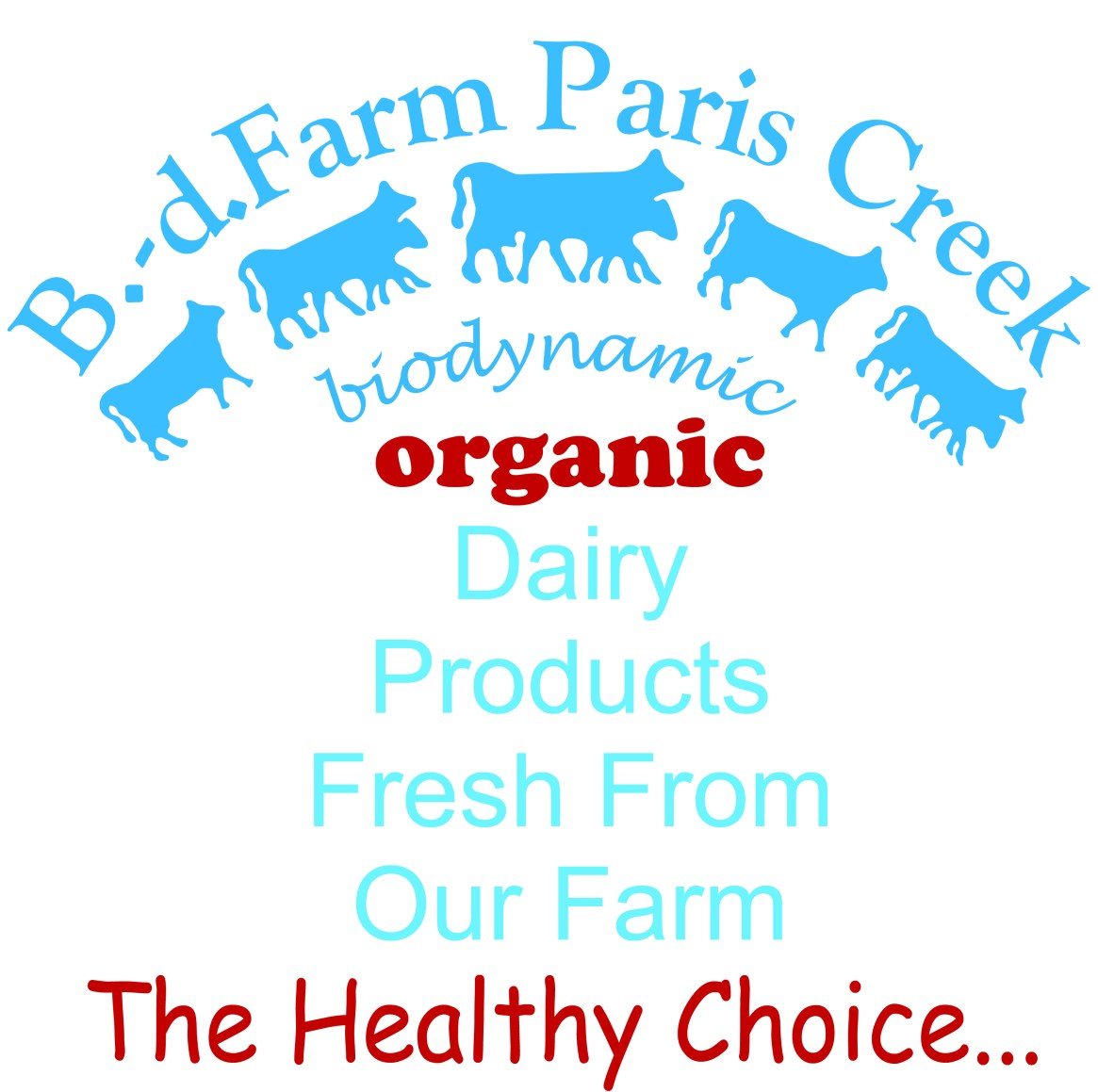 Full Logo B. d. Farm Paris Creek High Resolution 300dpi