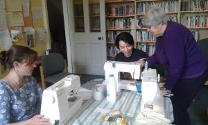 Intro to Sewing Machines @ Friends Meeting house
