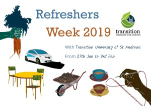 Transition's Refreshers Week 2019 @ St Andrews