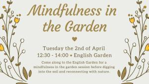 Mindfullness in the Garden @ English Garden