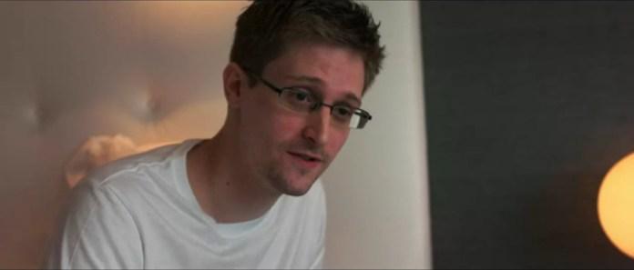 Edward Snowden. Skjermbilde fra dokumentaren Citizen Four.
