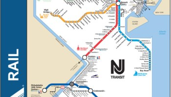 Transit Maps: Submission – Official Map: Map of NJ Transit