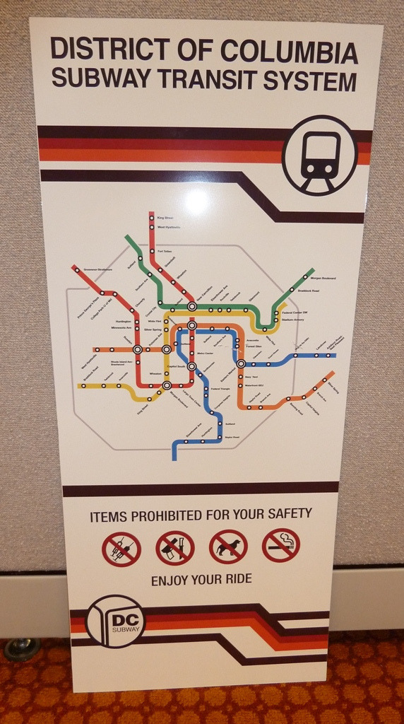 Real Dc Subway Map.Transit Maps Fantasy Map Dc Subway Map From Leverage