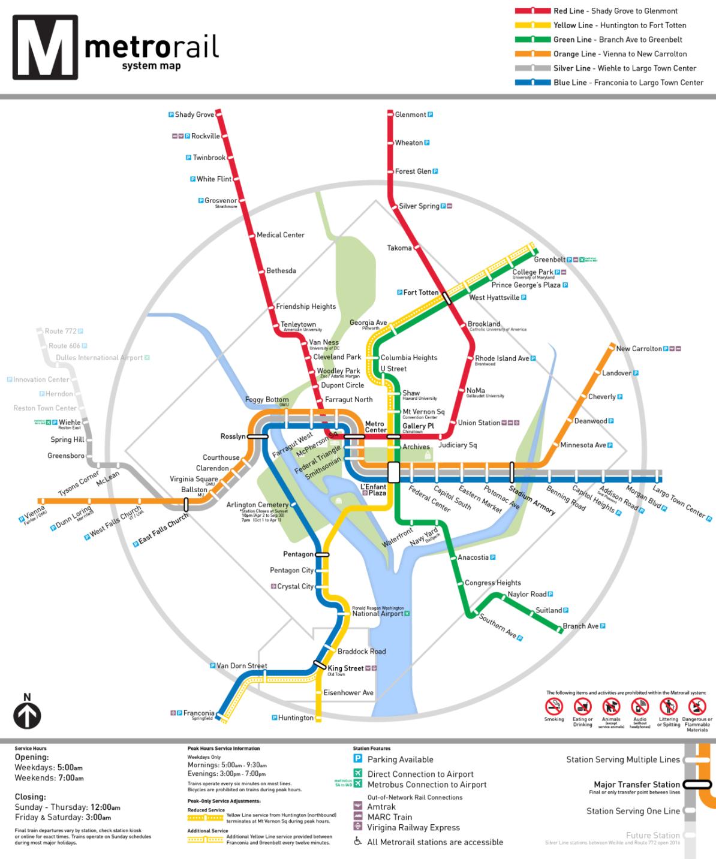 Audiosorce Subway Map.Transit Maps Unofficial Map Washington Dc Metro Map By Peter Dovak