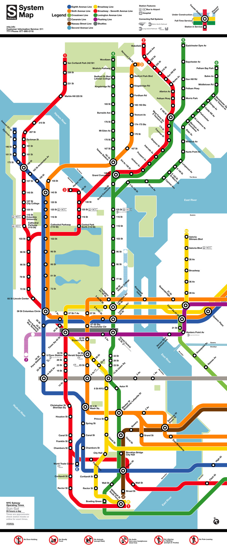 Map Of Metro New York.Transit Maps Fantasy Map New York Subway Map In The Style Of