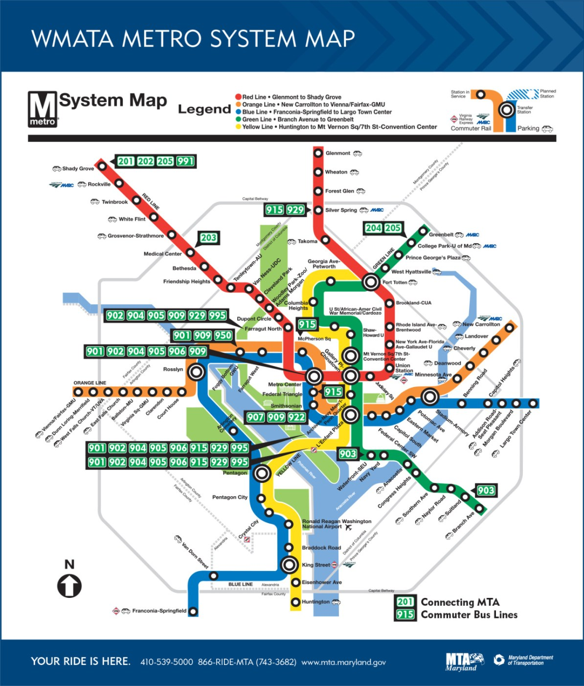 Transit Maps: Weird: The Maryland Transit Administration's