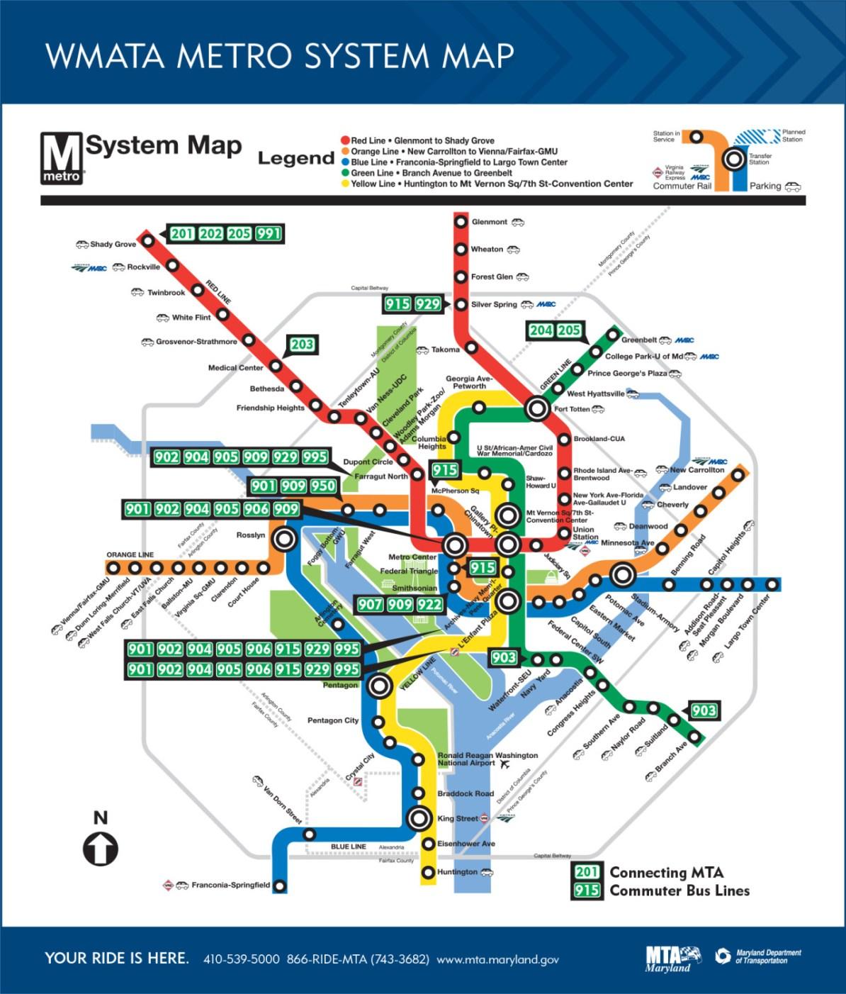 Mta Subway Map Washington Dc.Transit Maps Weird The Maryland Transit Administration S Version
