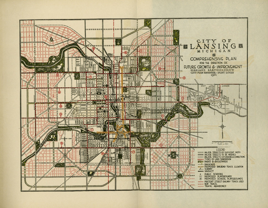 """Transit Maps: Historical Map: """"Future Growth and Improvement ..."""
